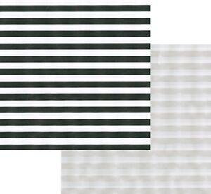 Caspari 5' Continuous Gift Wrap Roll, Club Stripe Black/Pearl (97271RSC)
