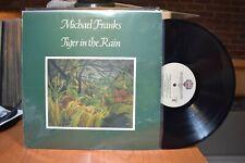 Michael Franks Tiger in the Rain LP Warner Bros BSK 3294 Stereo
