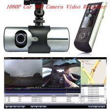 "2.7"" 1080P Dual Lens HD GPS Car DVR Kamera Video Recorder Dash CAM G-Sensor DE"