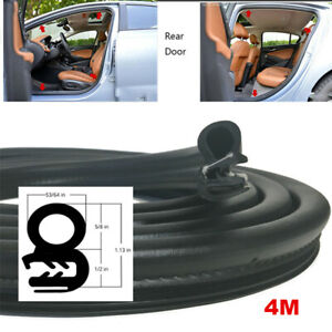 13ft Car Accessories Sealing Strip Weatherstrip Rubber Moulding Universal Fit