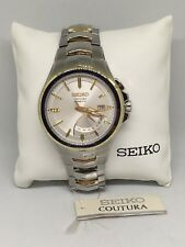 Seiko Coutura Kinetic Watch New with box and papers