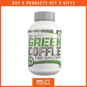 BIOTECH Green Coffee 120 Capseln I Kaffeine I Metabolism I Fatt Burner I