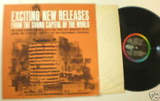 Capitol DJ LP JAN 62 DINAH SHORE Vic damome Jo Stafford