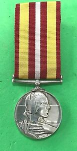 RED CROSS LONG AND EFFICIENT SERVICE MEDAL - GEORGE RAE