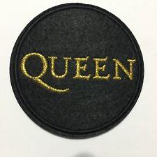 """QUEEN PATCH GOLD 3""""x 3"""" Freddie Mercury"""