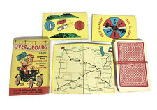 Vintage Built Rite No 487 Over the Roads Game Warren Paper Products