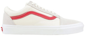 Vans Men's Old Skool Casual Sneakers Vintage White Rococco Red VN0A38G1R1T Sizes