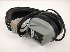 VINTAGE REALISTIC NOVA 16 STEREO HEADPHONES LEFT/RIGHT VOLUME CONTROLS 8 Ohms