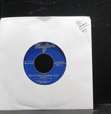 """The Lady In Blue - March Of The Toys / What's My Favorite Toy 7"""" Vinyl 45"""