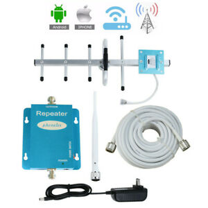 850MHz Cell Phone Signal Booster AT&T Verizon US Cellular GSM 2G 3G 4G Amplifier