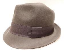 Cappello lana hat MOSCHINO mod.borsalino art.01109 T.56 col.003 antracite Italy