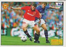 N°051 ROY KEANE # IRELAND MANCHESTER UNITED Premier League 1996 MERLIN STICKER