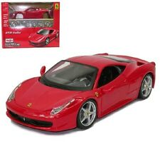 Maisto 1:24 Ferrari 458 Italia Diecast Assembly Line KIT Model Car Toy New Red