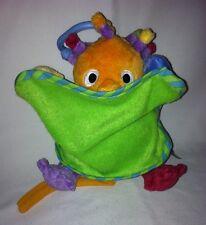 Eebee's Adventure Every Baby Co. Vibrating Crib Plush Pull Toy Eebees