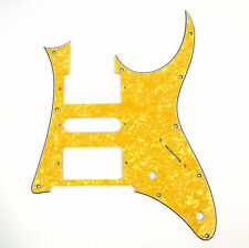 4Ply Quality Guitar Pick Guard For Ibanez RG 350 DX ,Yellow Pearl