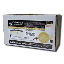 210 capsule caffè Cialdeitalia GOLD ARABICA compatibile con LAVAZZA A MODO MIO