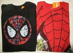Gymboree Spider-Man Tee Shirt Gymfriends Lot Size L 10-12 NWT
