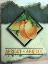 New listing Apricot Wine Labels (30) Home Winemaking (30)