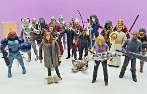 """DOCTOR WHO figures with accessories . 5"""" range . MULTI LISTING . combine postage"""