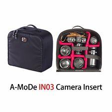 A-MoDe meidum Size Flexible Camera backpack Insert Partition for DSLR Bag Black