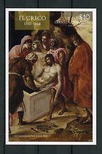 Grenadines Grenada 2015 MNH El Greco 1v Imperf S/S I Art Paintings Stamps