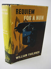 1st Edition REQUIEM FOR A NUN William Faulkner NOBEL PRIZE 3rd Printing CLASSIC