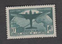France - Timbres neufs ** - Traversée de l'atlantique - N° 321 - 1936 - TB