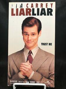 VHS Movie Liar Liar Jim Carrey