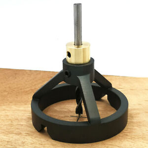 Portable Vertical Drill Jig Set Drill Guide Locator Hole Puncher WoodworkingTool