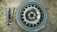 "ALFA ROMEO GIULIETTA 2010-20 SPACE SAVER 16"" 5 STUD SPARE WHEEL & JACK KIT"
