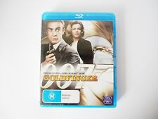 """""""007 Gold Finger"""" Blu-Ray DVD Rated MA, Starring Sean Connery! Great Buy!"""