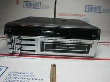 Pioneer 8 track Car Stereo Vintage In Dash Fm-Radio Tp-700 Mint* Open Box/No Box