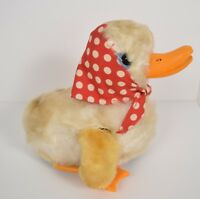 Max Carl Original  Mechanical Windup Toy Vintage West Germany Duck Flapping Wing
