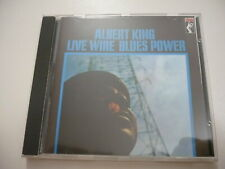 Music  Cd - Albert King  Live wire blues power