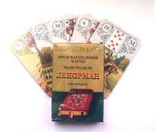 A deck of Tarot, Lenormand 36 cards