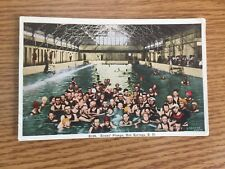 Evan's Plunge Hot Springs  South Dakota Unposted Postcard