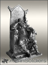 # 533 Tin 54mm Toy Figure  Jarl of Viking on the Throne
