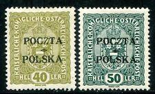 POLEN 1919 38-39 * ABART dünnes Z einmal gepr MIKSTEIN (Z1340