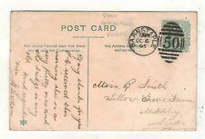 EDW.VII. 1905.  BARNSTAPLE  DUPLEX POSTMARK.PLEASE SEE PICTURE