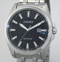 Citizen ECO-DRIVE SAPHIRGLAS Solaruhr Herrenuhr 41 mm  10 BAR WR BM7108-81L