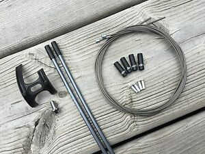 SHIMANO SHIFTER CABLE AND HOUSING KIT STAINLESS JAGWIRE SIS SP41 300MM DURA ACE