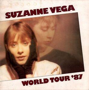 SUZANNE VEGA 1987 SOLITUDE STANDING WORLD TOUR CONCERT PROGRAM BOOK / VG 2 NMT