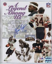 "WALTER PAYTON SIGNED  "" A LEGEND AMONG US ""  8X10  PSA-DNA"