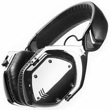 V-MODA Crossfade Wireless Plus Wired Over-Ear Bluetooth Headphone Phantom Chrome