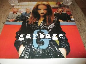 GARBAGE POSTER 1995 ALMO SOUNDS 18 W X 21 1/2 T TEAR ON CORNER