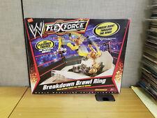 Mattel 2010 WWE Flexforce Breakdown Brawl Wrestling Ring, Brand New!
