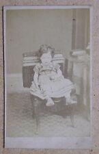 CDV. Young Child with a Ball. By A W Vernon, Stoke Newington (ref AP2-005)