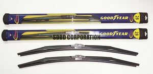 2013-2014 Ford Escape Goodyear Hybrid Style Wiper Blade Set of 2