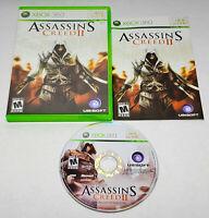 Assassin's Creed II Standard Edition (Microsoft Xbox 360, 2009) CIB Complete