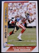 Card Jerry Rice Pacific 1991 49ers